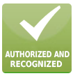 Authorized and Recognized training