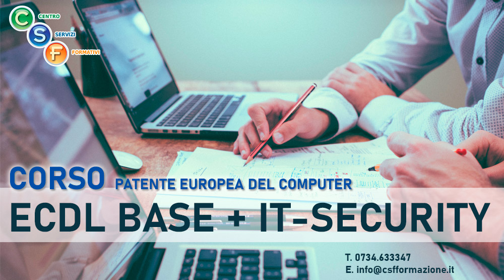 corso nuova ecdl it security